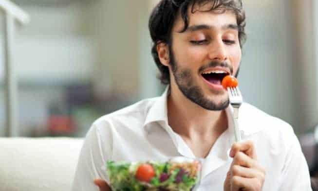 La dieta de un hombre