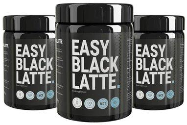 Latte negro fácil