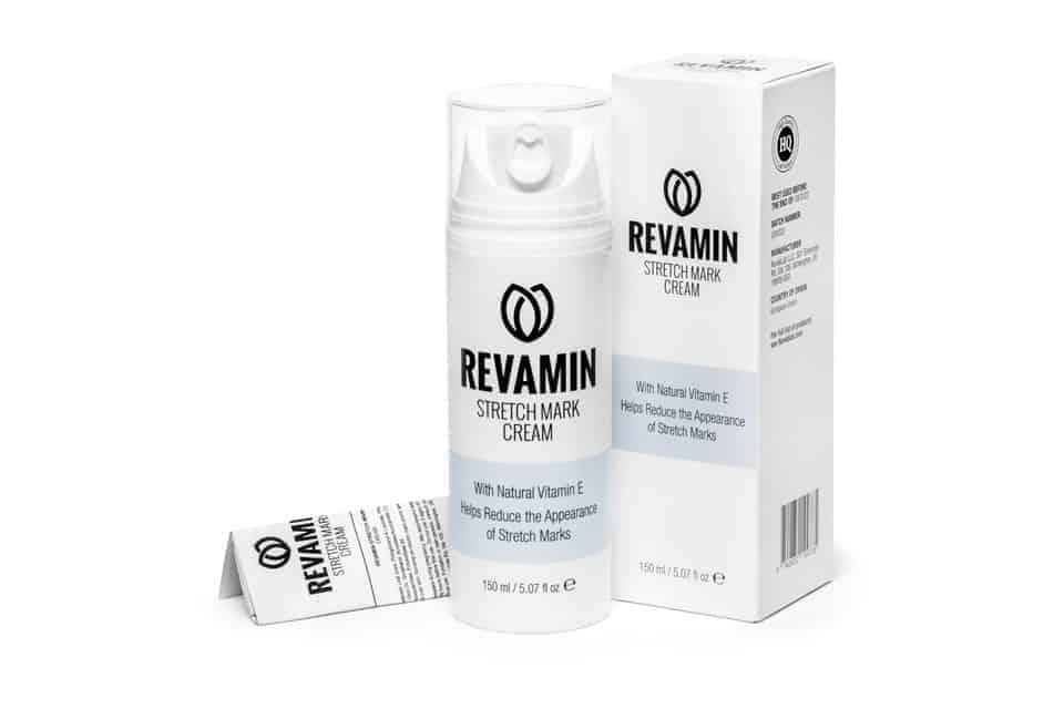 Revamin Stretch Mark: una crema rica que reduce las estrías y activa la regeneración de la piel.