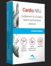 Cardio NRJ, suplemento para la presión arterial alta
