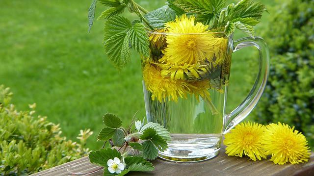 agua de hierbas