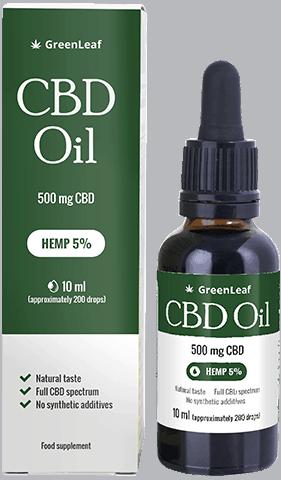 Aceite de CBD Greenleaf