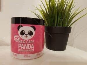 Panda para el cuidado del cabello