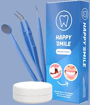 Happy Smile, una solución para un diente faltante sin una visita al dentista