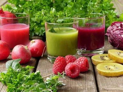 jugos de vegetales
