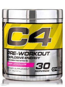 pre entrenamiento Cellucor C4