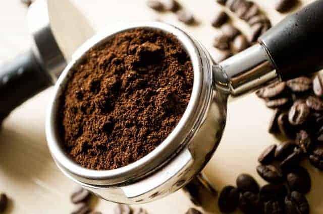 cucharadita de café molido
