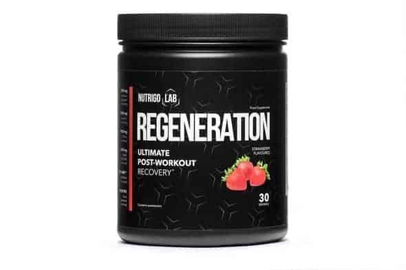 Nutrigo Lab Regeneration: aumenta la eficacia del entrenamiento y mejora la regeneración