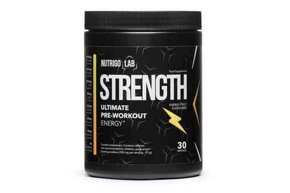 Nutrigo Lab Strength: un pre-entrenamiento único, poderoso y de gran potencia.